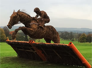 Inglis Drever - Wire Sculpture of Inglis Drever