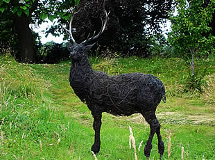 Monarch - Wire Sculpture of a Stag